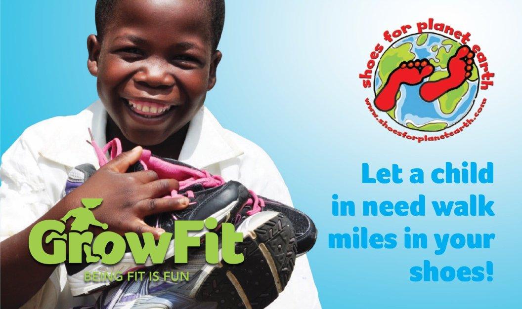 GrowFit Shoe Drive 2018